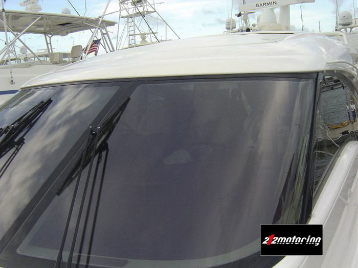 Boat window tinting and solar control and protect