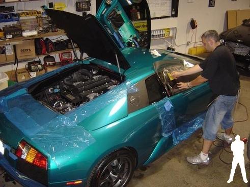 Lamborghini tint east coast