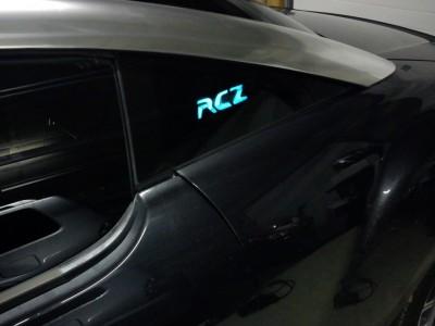 electroluminescente coche publicidad