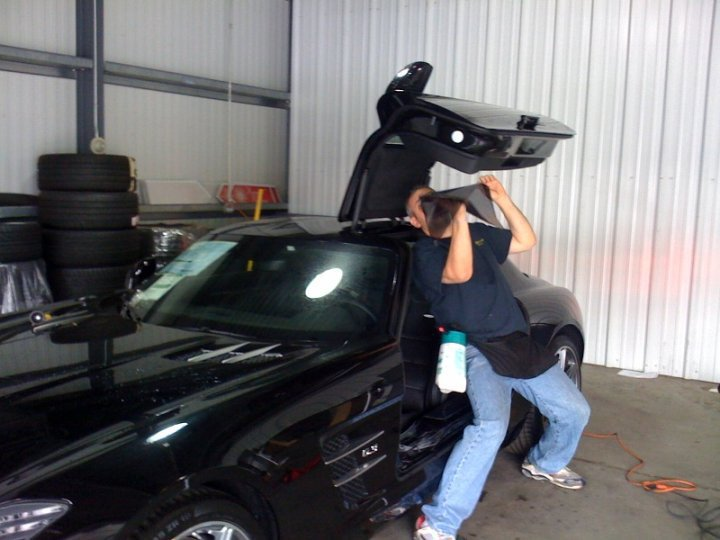 tinting windows car fleet