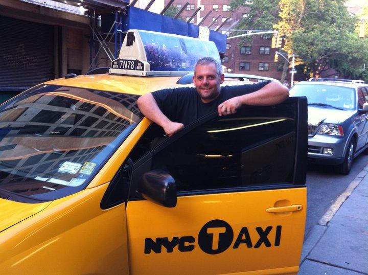 NYC TAXI cab tint