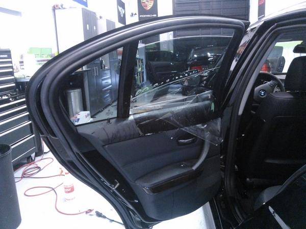BMW sedan film